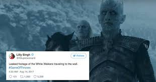 White Walker Meme - game of thrones fans are all making the same joke about the white