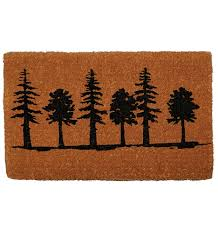 tree silhouette doormat rejuvenation