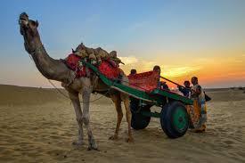 thar desert sunset in thar desert u2013 jaisalmer rajasthan india sumit4all