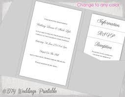 diy wedding invitation template pocket wedding invitations template diy pocketfold wedding