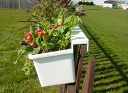 Hanging Planter Boxes by Hanging Planter For Fence Hanging Planters That Hang On Any Type