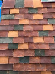 Tile Roofing Supplies 14 Best Oakridge Handmade Clay Roof Tiles Multi Blend Images On