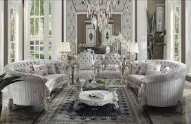 Ebay Living Room Sets by Acme Furniture Ivory Versailles Living Room Set Classic 4pcs