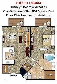 disney bay lake tower floor plan lake tower one bedroom villa floor plan best of the disney