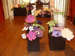 paper flower centerpieces diy paper flower wedding centerpieces style by modernstork