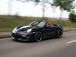 porsche carrera 2008 2008 techart porsche 911 turbo cabriolet front and side speed