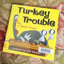 thanksgiving literature turkey trouble disguise a turkey a book and activity for