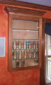 pint glass display cabinet beer glass storage beer glass rack hanging mug pint display storage