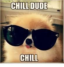 Chill Meme - chill dude chill chill meme on me me