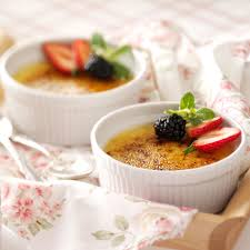 white chocolate creme brulee recipe taste of home