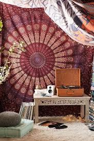 beautiful tapestry bedroom ideas ideas fancy white iron twin