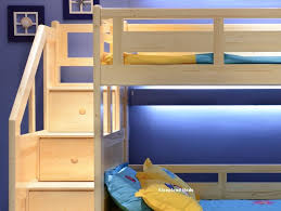 Luxury Carved Solid Pine Wood Traditional Wooden Bunk Beds With - Solid oak bunk beds with stairs