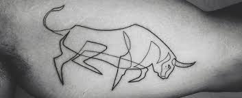 tattoo animal line 75 line tattoos for men minimal designs with bold statements