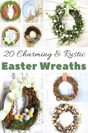 how to make easter wreaths the best easter wreath ideas to make at home