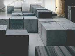 modular backless marble bench seating cube by franchiumbertomarmi