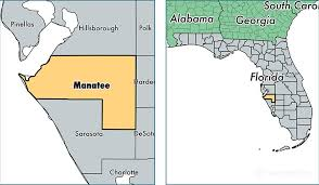 florida towns map manatee county florida map of manatee county fl where is