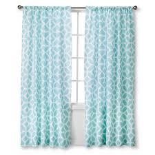 Target Paisley Shower Curtain - modern geo helix curtain panels aqua 54