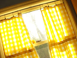 Lemon Kitchen Curtains by Kitchen Curtain Yellow Decorate The House With Beautiful Curtains
