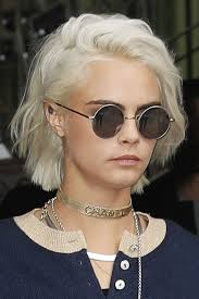 styling shaggy bob hair how to cara delevingne wavy silver bob shaggy bob hairstyle steal her