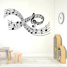 Music Note Home Decor Wall Ideas Music Note Symbol Wall Decor Music Notes Wall Decor