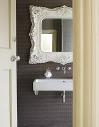 Vintage Mirrors For Bathrooms - accessories vintage mirrors painted white remodelista