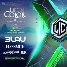 life in color at panther pavilion