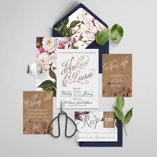 wedding invitations affordable printable wedding invitation suite foil printable diy