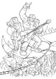 brutal legend pencils by mikedimayuga on deviantart