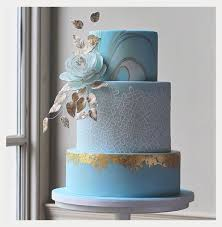 edible lace modern marbled wedding cake with edible lace gold leaf mon