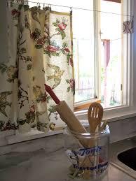 the deckers no sew kitchen window curtains