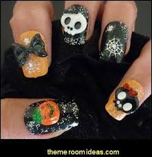 decorating theme bedrooms maries manor nail art halloween