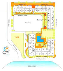 Floridian House Plans Buy At Cite On The Bay Condo In Miami Downtown Fl