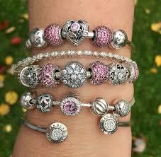 love hearts charm bracelet images Pandora opulent heart is wonderful i love this pretty arm party jpg