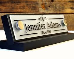 Office Desk Name Plate Name Plate For Desk Etsy Voicesofimani