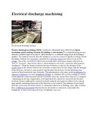 edm handbook numerical control machining