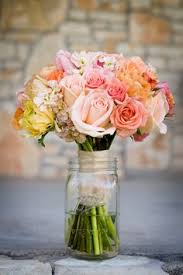jar flower arrangement country wedding flowers sis s wedding because i m so