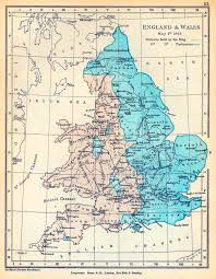 Maps Of England by Of England And Wales May 1 1643