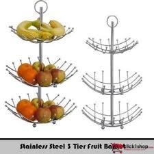 3 tier fruit basket stainless steel 3 tier fruit basket price in pakistan buy online