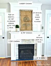 fireplace tile surround kits trim work simple farmhouse style
