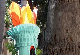 Lady Liberty Halloween Costume Diy Statue Liberty Halloween Costume Inhabitots