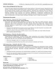 sales and marketing resume examples online resume examples make a