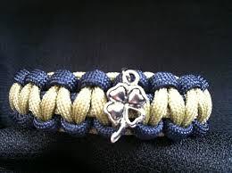 themed bracelets notre dame themed paracord bracelet with clover charm custom