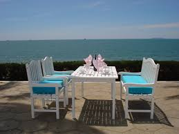 best summer patio furniture and painted wood patio furniture item