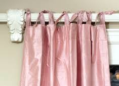 Curtains With Ribbon Ties Glossary Of Drapery Terminology