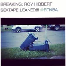 Roy Hibbert Memes - jajaja gilbert arenas leaks roy hibbert sex tape and calls him