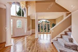 interior home columns beautiful entrance hall with high ceiling columns and arch window