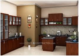 modern kitchen design kerala evens construction pvt ltd modern kitchen interior for