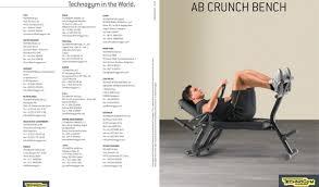 marcy ab bench uncategorized magnificent technogym element crunch bench beguile