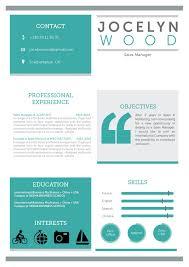 Indesign Resume Template Download Resume Template Impressive Resume Mycvfactory