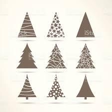 vector christmas tree icons stock vector art 517075955 istock
